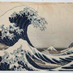 Hokusai Print Before Restoration